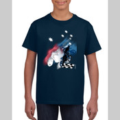 Motorcycle theme Southern Cross - Youth Unisex T Shirt