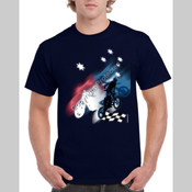 Motorcycle theme Southern Cross - Men's T Shirt