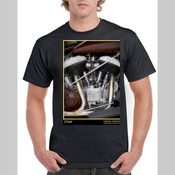 Indian Chief Motorcycle Men's Tshirt